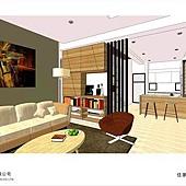 台中系統家具-美式住宅設計-系統家具-居家住宅設計