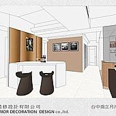 台中室內設計-居家系統櫃-客廳設計-收納規劃 (1)