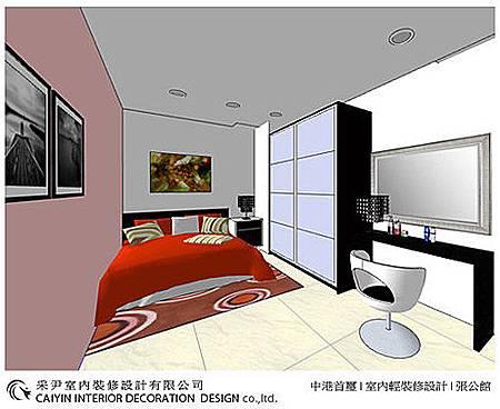 台中室內設計-空間設計-系統櫃規劃-客廳設計-書房設計 (5)