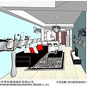 台中室內設計-空間設計-系統櫃規劃-客廳設計-書房設計 (6)