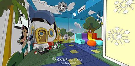 台中室內設計 兒童房設計 系統櫃衣櫃設計 住宅設計  (2).jpg
