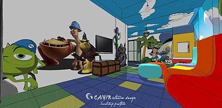 台中室內設計 兒童房設計 系統櫃衣櫃設計 住宅設計  (4).jpg