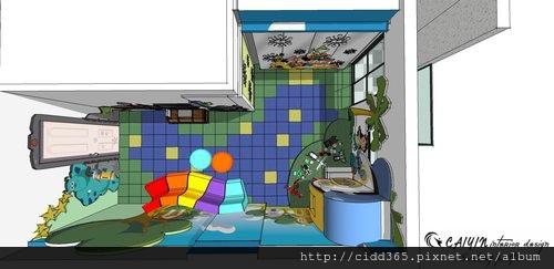 台中室內設計 兒童房設計 系統櫃衣櫃設計 住宅設計  (8).jpg