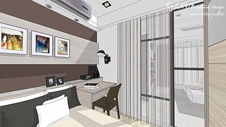 中部設計  居家裝潢 室內設計 天花板裝潢 鋁框門設計 (1).jpg