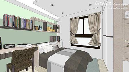 中部設計  居家裝潢 室內設計 天花板裝潢 鋁框門設計 (6).jpg