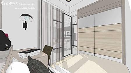 中部設計  居家裝潢 室內設計 天花板裝潢 鋁框門設計 (7).jpg