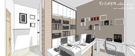 台中系統櫃  居家裝潢 天花板裝潢 電視牆設計 (2).jpg
