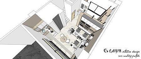 台中系統櫃  居家裝潢 天花板裝潢 電視牆設計 (4).jpg