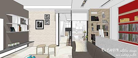 客廳裝潢  居家裝潢 室內設計  天花板造型 餐廳裝修 (1).jpg