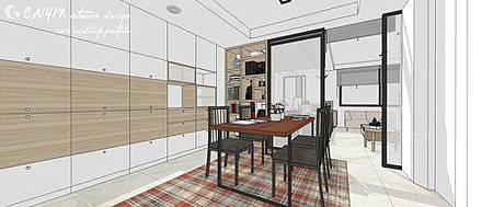 客廳裝潢  居家裝潢 室內設計  天花板造型 餐廳裝修 (6).jpg