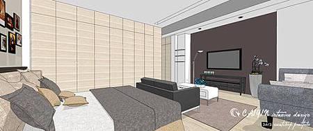 左岸璞園3 系統櫃  客廳裝潢 餐廳設計電視牆裝潢 (1).jpg