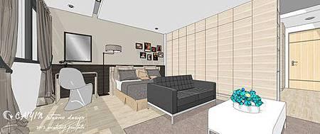 左岸璞園3 系統櫃  客廳裝潢 餐廳設計電視牆裝潢 (4).jpg