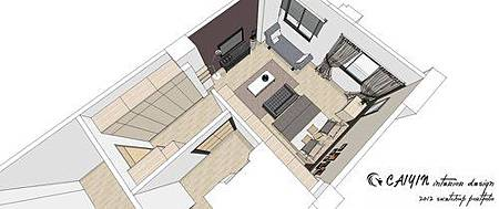 左岸璞園3 系統櫃  客廳裝潢 餐廳設計電視牆裝潢 (5).jpg