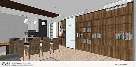 朵瓦櫥櫃 居家裝潢 臥室設計 和室書房設計   書櫃裝潢 (1).jpg