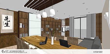 朵瓦櫥櫃 居家裝潢 臥室設計 和室書房設計 書櫃裝潢 (3).jpg