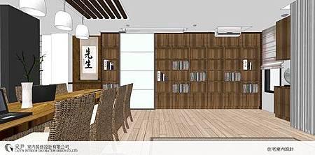朵瓦櫥櫃 居家裝潢 臥室設計 和室書房設計   書櫃裝潢 (2).jpg