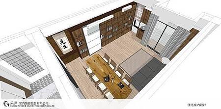 朵瓦櫥櫃 居家裝潢 臥室設計 和室書房設計   書櫃裝潢 (5).jpg