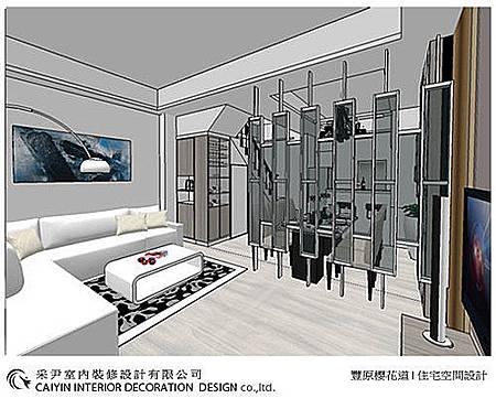 系統櫃  電視牆裝潢 玄關設計 (1).jpg