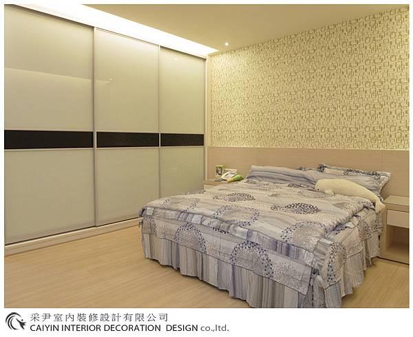 臥室設計 居家裝潢 裝潢風水 系統櫃設計 鋁框推拉門設計 (3).jpg