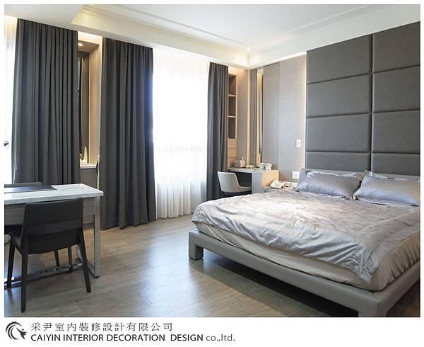 臥室設計 居家裝潢 裝潢風水 系統櫃設計 鋁框推拉門設計 (4).jpg