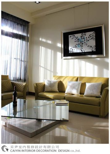 鋁框門設計 居家裝潢 室內設計 系統櫥櫃  大理石電視牆設計 (2).jpg