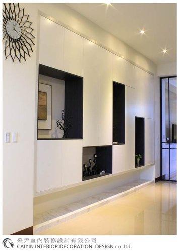 鋁框門設計 居家裝潢 室內設計 系統櫥櫃  大理石電視牆設計 (4).jpg