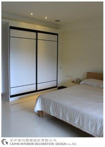 鋁框門設計 居家裝潢 室內設計 系統櫥櫃  大理石電視牆設計 (11).jpg