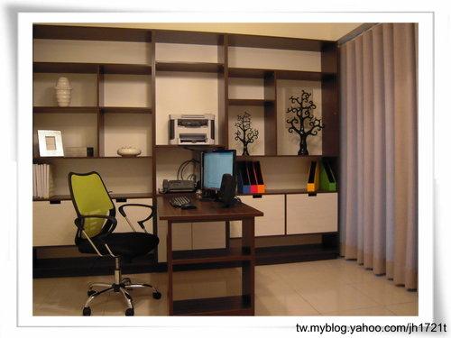 台中系統櫃 居家裝潢 室內設計 書櫃設計 書房裝潢  (1).jpg