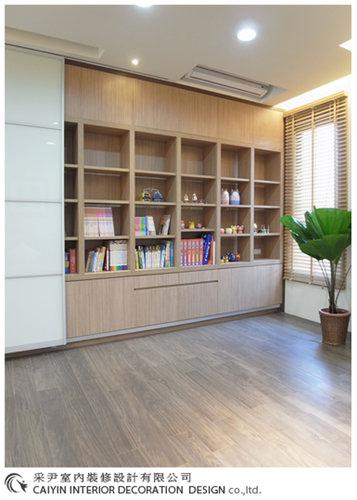 書櫃設計櫥櫃設計 室內設計 書房設計 地板裝潢.jpg