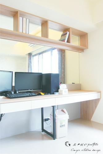 情定水蓮 住宅設計 居家裝潢 系統櫃 壁貼設計 玄關設計 (5)