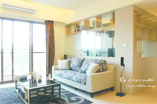 情定水蓮 住宅設計 居家裝潢 系統櫃 壁貼設計 玄關設計 (6)