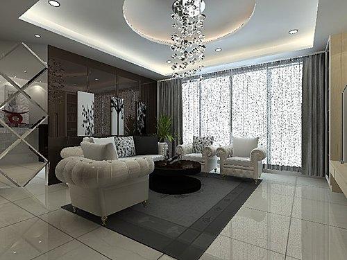 台中室內設計 客廳設計 電視牆裝潢 臥室設計 天花板裝潢 (1)