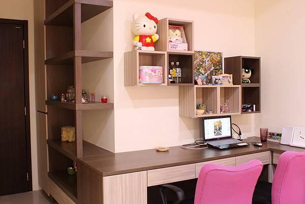 書房設計 DUWA朵瓦櫥櫃 台中室內設計 居客廳設計 住宅設計 居家裝潢 (26).JPG