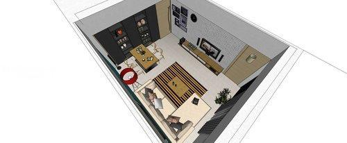 台中室內設計 系統櫃 客廳裝潢 餐廳裝潢  電視櫃 (7).jpg
