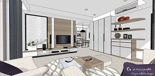 登陽建設 中山苑 室內設計 客餐設計  客廳設計 (1).jpg