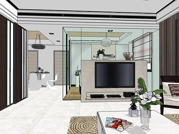 登陽建設 中山苑 室內設計 客餐設計  客廳設計 (11).jpg