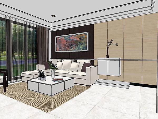 登陽建設 中山苑 室內設計 客餐設計  客廳設計 (9).jpg