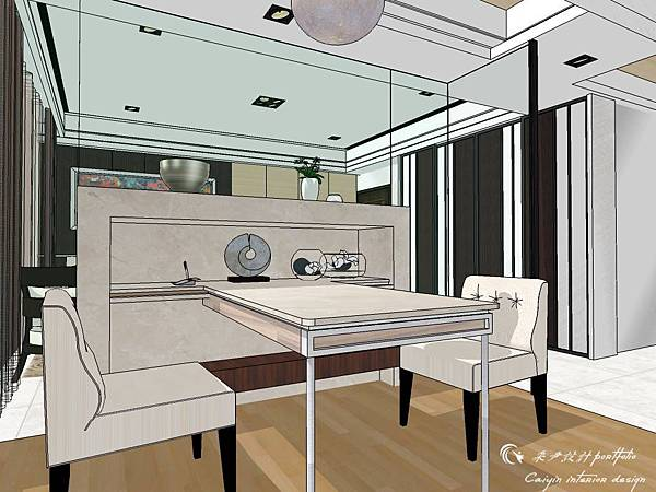 登陽建設 中山苑 室內設計 客餐設計  客廳設計 (13).jpg