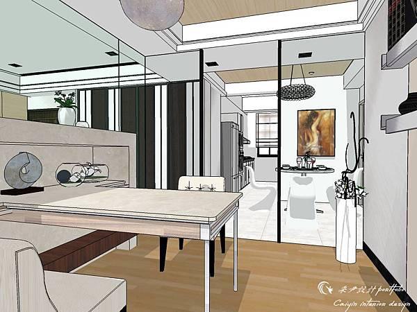 登陽建設 中山苑 室內設計 客餐設計  客廳設計 (14).jpg