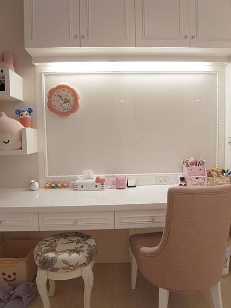 書櫃設計 書桌設計 系統櫃 女兒房設計 (5).JPG