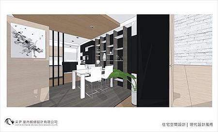 裝潢設計 書櫃設計 系統櫃設計 屏風設計 客廳設計 (7).jpg