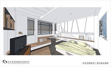 裝潢設計 書櫃設計 系統櫃設計 屏風設計 客廳設計 (6).jpg