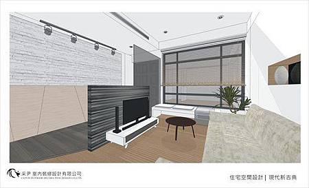裝潢設計 書櫃設計 系統櫃設計 屏風設計 客廳設計 (5).jpg