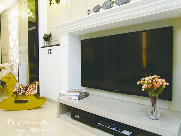 電視牆設計 居家裝潢 系統櫃 餐廳設計 (1)