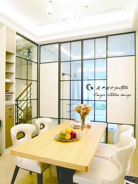 電視牆設計 居家裝潢 系統櫃 餐廳設計 (2)