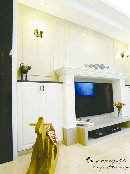 電視牆設計 居家裝潢 系統櫃 餐廳設計 (5)