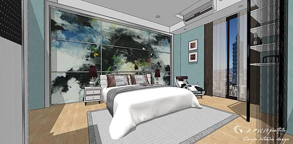 臥室空間設計01