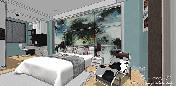 臥室空間設計02