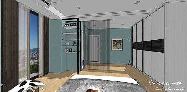 臥室空間設計06