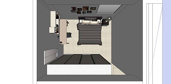 神岡吳公館2樓20131228   客房俯視圖